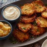 Traditional Hanukkah Latkes- Feel Good About These High Fiber Recipe!
